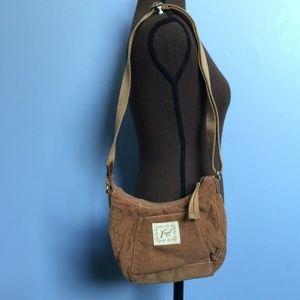 Fossil Corduroy Shoulder Bag